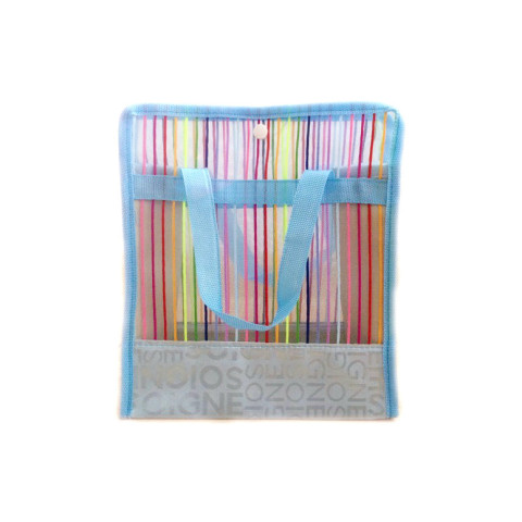 Netscoco Fashion Five Colored Bags Rainbow Bags Bathing Bags colored bags Handbags Rainbow Bag Leisure Beach bags manufacturer