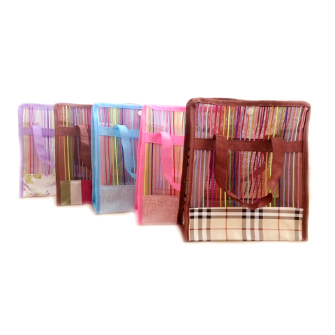 Netscoco Fashion Five Colored Bags Rainbow Bags Bathing Bags colored bags Handbags Rainbow Bag Leisure Beach bags suppliers manufacturer