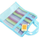 Netscoco Rainbow Mesh Bag Beach Handbag Fashion Bags China Supplier Factory