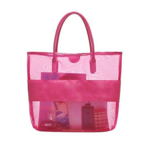 Plain Weave Nylon Mesh Application Tote Bag